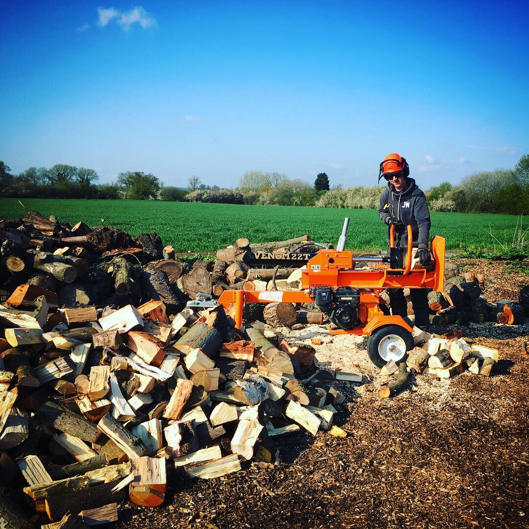 AJB Tree Care - Log Splitting Firewood Service